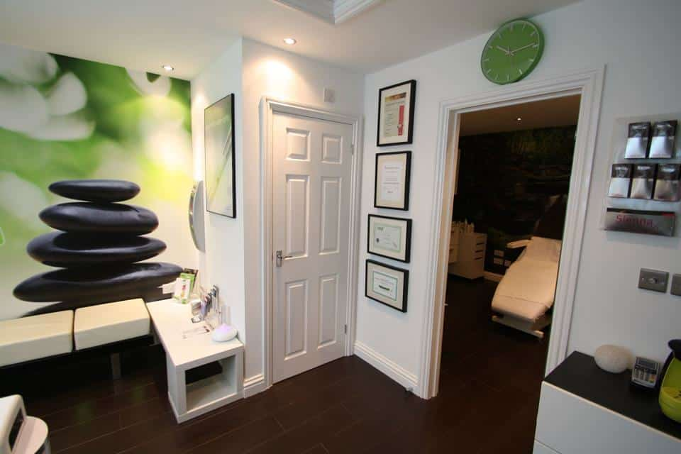 Inside our Andover beauty salon