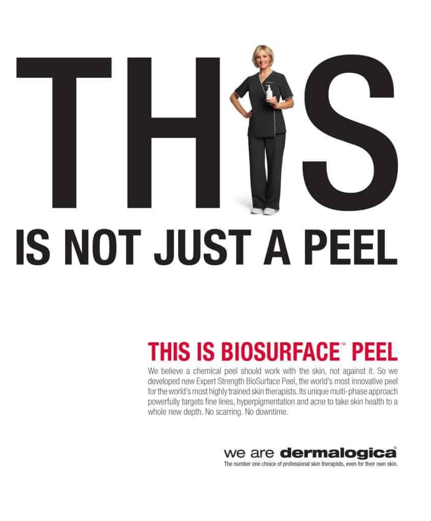Biosurface peel